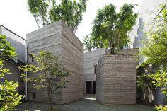 HIMMag - Khu nhà độc đáo phủ kín cây xanh giữa Sài Gòn