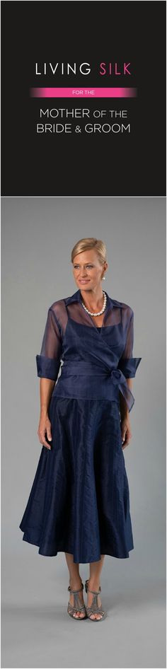 Living Silk - specializing in pure silk dresses and two piece outfits with sleeves for the modern and elegant mother of the bride and mother of the groom for a beach, boho, garden, rustic, country, cocktail or formal wedding in Spring/ Summer or Fall/ Winter | Mother of the Bride / Groom Dresses #livingsilk #motherofthebridedresses #motherofthegroomdresses #celebrateinsilk #puresilk Summer Mother Of The Bride Dresses, Mother Of Bride Outfits, Mother Of Groom Dresses, Grooms Mom Dress, Bride Groom Dress, Groom Outfit, Mariage Formel, Lace Beach Wedding Dress, Wedding Dresses