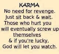 that karma, mannn