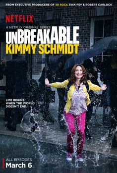 Review: UNBREAKABLE KIMMY SCHMIDT - Geniale neue Netflix Serie - http://filmfreak.org/review-unbreakable-kimmy-schmidt-geniale-neue-netflix-serie/