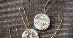 Learn how to make your own salt dough ornaments with this simple tutorial from Living YOUR Creative!