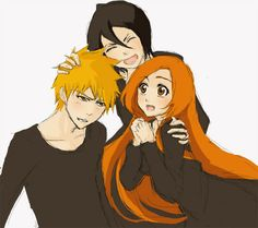 Lol, Rukia Is A Ichihime Fan After All,(In Manga) Just Look Were After He…