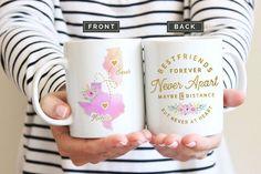 Sister Moving Mugs Sister Moving Gift Sister Moving Away Best Friend Mug, Friend Mugs, Best Friend Birthday, Best Friend Gifts, Gifts For Friends, Gifts For Mom, Best Gifts, Sister Gifts, Best Friends