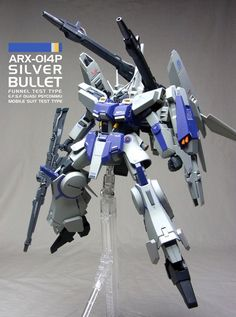 Custom Build: HGUC 1/144 Silver Bullet [Funnel Test Type] - Gundam Kits Collection News and Reviews