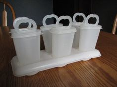 Vintage Tupperware Popsicle Molds Set | eBay
