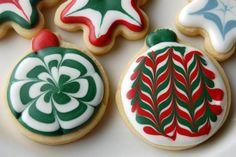 Royal Icing Christmas Cookies | Christmas Cookies Royal Icing