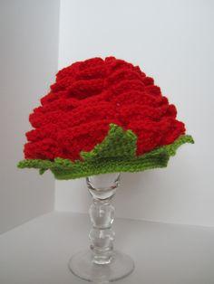 Newborn Rose Hat