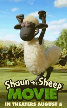 From the creators of Wallace and Gromit, put your hoofs together for a Big City adventure with the #ShaunTheSheep movie - in theaters August 5th, 2015!