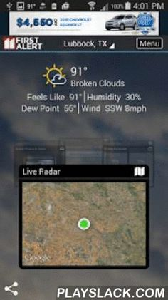 KCBD First Alert Weather  Android App - playslack.com ,  The KCBD Mobile Weather App includes: * Access to station content specifically for our mobile users * 250 meter radar, the highest resolution available * Future radar to see where severe weather is headed * High resolution satellite cloud imagery * Current weather updated multiple times per hour * Daily and Hourly forecasts updated hourly from our computer models * Ability to add and save your favorite locations * A fully integrated…