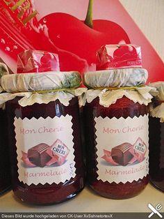Mon Cheri Marmelade Mon Cheri jam, a popular recipe from the Breakfast category. Mon Cheri, Chutneys, Brunch Recipes, Sweet Recipes, Drink Recipes, Vegetable Drinks, Pumpkin Dessert, Doritos, Food Menu
