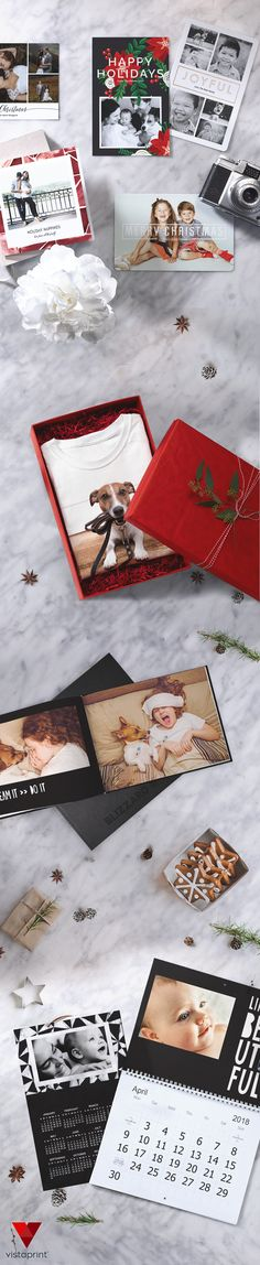 This season, create keepsakes they'll love all year long. From mugs to wall calendars, Vistaprint has products that are simple to personalise with all your favourite photos starting at $10. Delivery fees apply.