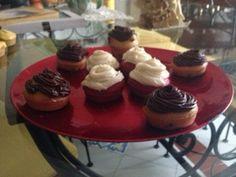 #Cupcakes al cioccolato e #RedVelvet