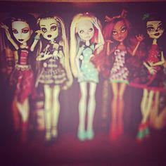 Dolls monster high
