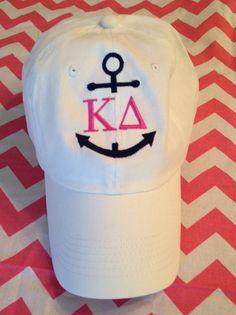 Greek Sorority Anchor Hat