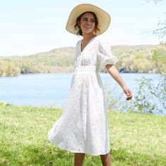 30 Everyday Dresses to Wear at Home This Summer Ribbed Knit Dress, Knitted Romper, Eyelet Dress, Everyday Dresses, Tiered Dress, Flare Skirt, Tank Dress, Pretty Dresses, Short Sleeve Dresses