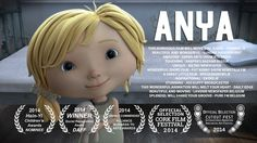 Anya - Cortometraje animado de los orfanatorios. Posibles estructuras: se siente, llega, no tiene, se va