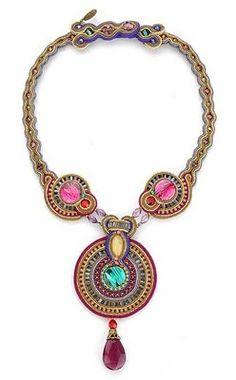 Dori Csengeri Hand Embroidered Jewelry