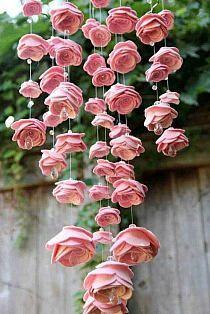roosjes aan een mobiel