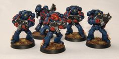 Crimson Fist Space Marines by etiennekendrick.deviantart.com on @deviantART