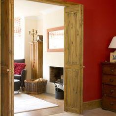 Rustic folding doors | sliding door ideas | decorating details | PHOTO GALLERY | Housetohome