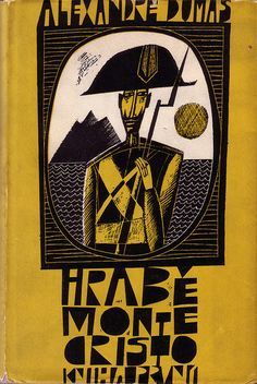 Czechoslovak dust jacket (1963), cover and binding designed by Czech illustrator Adolf Born (b 1930). via oliver.tomas on flickr