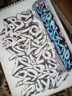 Style Wildstyle is a complicated and intricate form of graffiti. For example graffiti alphabet letters on the use of force Wildstyle. Letras Graffiti 3d, Graffiti Art, Graffiti Alphabet Styles, Graffiti Lettering Alphabet, Graffiti Writing, Tattoo Lettering Fonts, Best Graffiti, Graffiti Tagging, Graffiti Styles