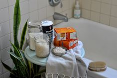 Salt and Soda Soak: A Radiation Detox Bath