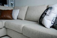 nahkainen sohvatyyny