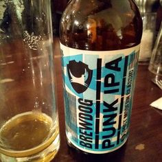 Brewdog punk IPA. Ve