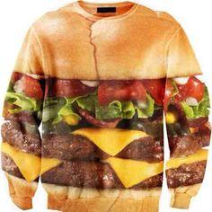 Juicy #Hamburger #sweater // pinned by @welkerpatrick