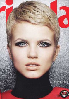 25 Great Pixie Cuts | 2013 Short Haircut for Women - if I ever go pixie again, this is what I'll have.