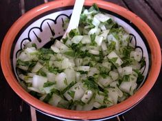 Cebolla + Cilantro picaditos - Ideal para acompañar tus tacos y celebrar la Independencia de México | Blog de BabyCenter #mexico #comidamexicana