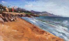 "Saatchi Art Artist Giovanni Scifo; Painting, ""vista con mare"" #art"