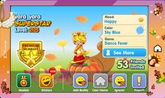 Fantage YARA_YARA! this must have been awhile ago, cuz ppl now are like lvl 5000 now or 4000 in the top ten