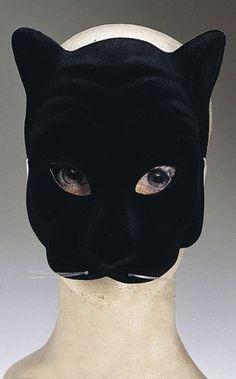 Black Panther Halloween Costume Face Mask brandsonSale. $2.67