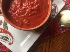 Crockpot marinara sauce - zero points - daily dose of pepper