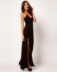 vestidos largos sencillos pegados - Buscar con Google