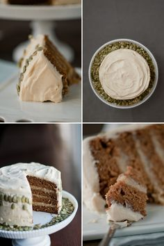 Hungry Rabbit: cinnamon-caramel pumpkin cake w banana-rum filling.... looks like a tonne of work but looks scrumptious