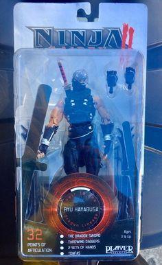 """Neca Ninja Gaiden 2 Ryu Hayabusa 7"""" Figure Package Not Mint Read http://ift.tt/2jlkOWD"""