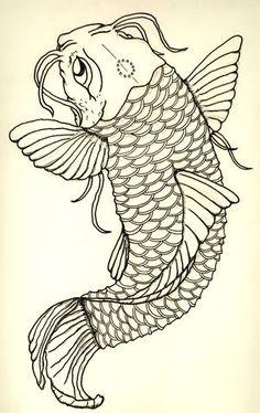 koi tattoo idea? eventually....