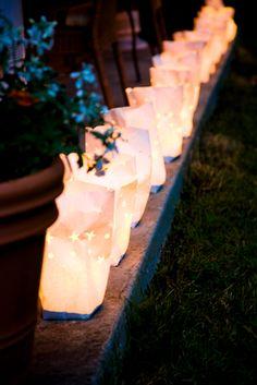 brown paper bag lights