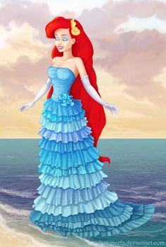 Designer Ariel by madam-marla on deviantART