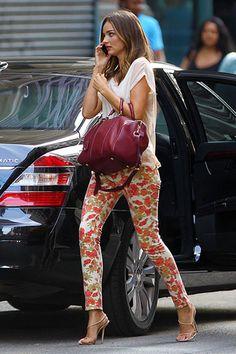 Street Style: A Miranda for All Seasons  - HarpersBAZAAR.com