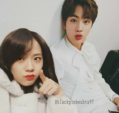 Any JinSoo shipper? #jinsoo  #blackpink #bts