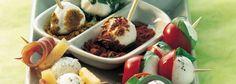 Recette Apéritif de minis billes de mozzarella #recette #billes #mozzarella #apéro #mozza