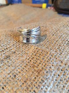 Solid Silver Folded Art Nouveau Teaspoon £58.00