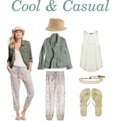 Cool & Casual by calypsostbarth on Polyvore