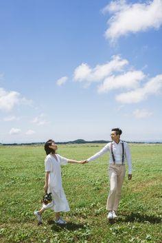 [사운드로잉's 제주도셀프웨딩촬영] ANGUNWOO&YOONSEYUEN : 네이버 블로그 Pre Wedding Poses, Wedding Couple Photos, Pre Wedding Photoshoot, Wedding Shoot, Korean Couple Photoshoot, Couple Shoot, Korean Wedding Photography, Couple Photography, Outdoor Couple