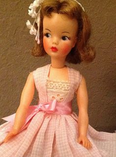 Tammy. Rescue doll. After spa treatment. I adore her pink Patty Duke-ness. | Flickr - Photo Sharing!