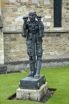 Daedalus on Wheels - Cambridge Sculpture Art, Sculptures, Eduardo Paolozzi, Human Art, Figurative, Cambridge, Painting & Drawing, Pop Art, Wheels